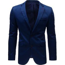 BASIC Elegantní sako v modré barvě (mx0385) velikost: S, odstíny barev: modrá
