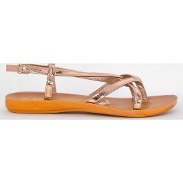 Růžové sandály LS10-147 velikost: 36, odstíny barev: růžová
