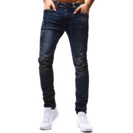 BASIC Pánské džíny (ux0697) velikost: 34, odstíny barev: modrá