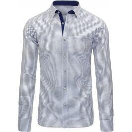 BASIC Pánská bílá košile (dx1090) Velikost: 2XL