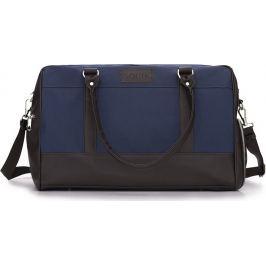 Pánská modro-hnědá taška SOLIER (S18 navy/brown) Velikost: univerzální