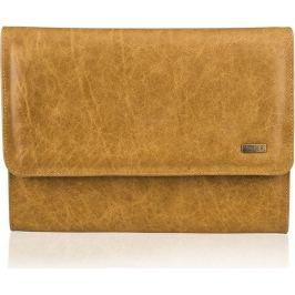 Pánská kožená hnědá složka SOLIER (SA01 vintage brown) velikost: univerzální, odstíny barev: hnědá