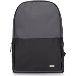 Černo-šedý batoh SOLIER (SR01 BLACK/grey) Velikost: univerzální