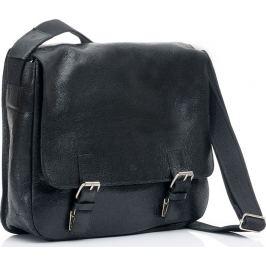 DAAG Kožená černá taška přes rameno (dg4c) Velikost: univerzální