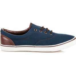 PÁNSKÉ TENISKY MCKEYLOR AH16-7929N velikost: 43, odstíny barev: modrá