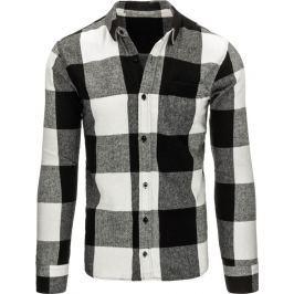 BASIC Pánská flanelová košile (dx1152) velikost: 2XL, odstíny barev: barevná