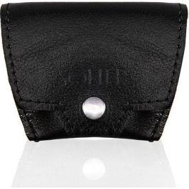 Černá peněženka na mince SOLIER (SA10 BLACK) Velikost: univerzální