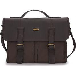 Pánská hnědá taška Solier (S14 BROWN/BROWN) velikost: univerzální, odstíny barev: hnědá