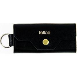 FELICE Kožené pánské pouzdro na klíče SOLIER (FA11 BLACK) Velikost: univerzální