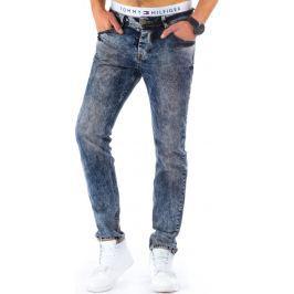 BASIC Pánské džíny (ux0128) velikost: 30, odstíny barev: modrá