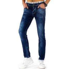 BASIC Pánské džíny (ux0794) velikost: 30, odstíny barev: modrá