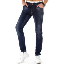 BASIC Pánské džíny (ux0799) velikost: 29, odstíny barev: modrá