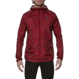 ASICS FujiTrail Jacket velikost: 2XL, odstíny barev: červená