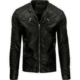 BASIC Pánská černá bunda (tx1553) velikost: XL, odstíny barev: černá