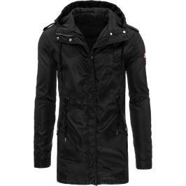 BASIC Pánská černá parka bunda (tx1609) velikost: 2XL, odstíny barev: černá