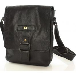 DAAG Pánská černá kožená taška JAZZY ORGANIC 4 (dg40a) velikost: univerzální, odstíny barev: černá