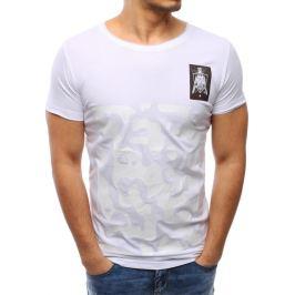 BASIC Bílé tričko s potiskem (rx1923) Velikost: 2XL