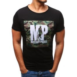 BASIC Černé tričko s potiskem (rx1926) Velikost: 2XL