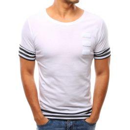 BASIC Bílé tričko s potiskem (rx1930) Velikost: 2XL