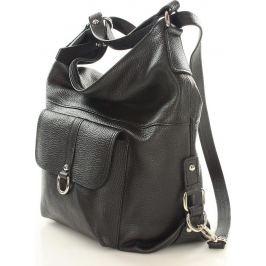 Dámská kožená taška/batoh MAZZINI - Alessia (s116a) Velikost: univerzální