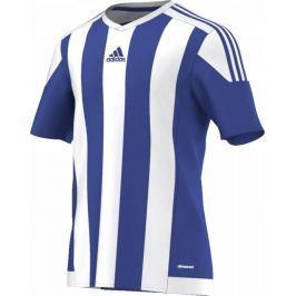 ADIDAS fotbalový dres Striped 15 Junior S16138 velikost: 116, odstíny barev: modrá