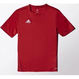 ADIDAS fotbalový dres Core Training Jersey Junior M35333 velikost: 116, odstíny barev: červená