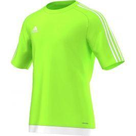 ADIDAS fotbalový dres Estro 15 Junior S16161 velikost: 128, odstíny barev: zelená
