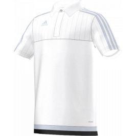ADIDAS fotbalový dres Tiro 15 Junior S22447 velikost: 140, odstíny barev: bílá