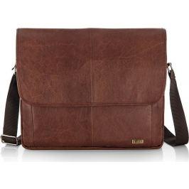 SOLIER Laptop bag (S15 BROWN VINTAGE) velikost: univerzální, odstíny barev: hnědá