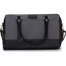 SOLIER Sportovní pánská šedá taška (S18 GREY/BLACK) Velikost: univerzální
