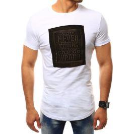 BASIC Pánské bílé tričko (rx2410) Velikost: M