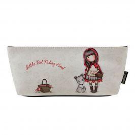 Santoro London - Pouzdro/Kosmetická taška - Gorjuss - Little Red Riding Hood Červená, bílá