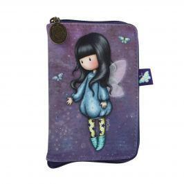 Santoro London - Skladací Nákupní Taška - Gorjuss - Bubble Fairy Modrá, fialová