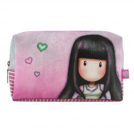 Santoro London - Kosmetická taška (velká) - Gorjuss - Tall Tails Růžová, fialová, šedá
