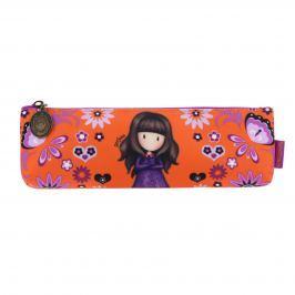 Santoro London - Pouzdro/Kosmetická taška - Gorjuss Fiesta - Cobwebs oranžová, fialová