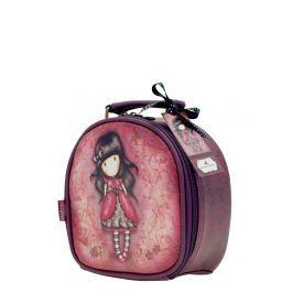Santoro London - Kosmetický kufřík (malý) - Gorjuss - Ladybird Vínová