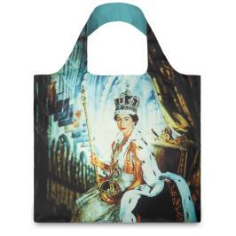 LOQI - Skládací Nákupní Taška - Museum - Queen Elizabeth II
