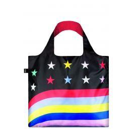 LOQI - Skládací Nákupní Taška - Travel - Stars & Stripes