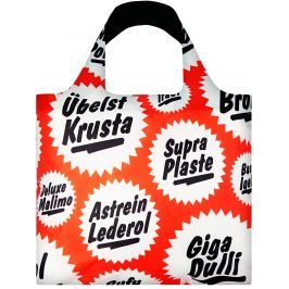 LOQI - Skládací Nákupní Taška - Type - Mega Bag