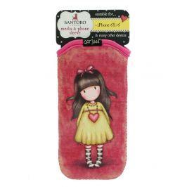 Santoro London - iPhone 6/6s Pouzdro - Gorjuss - Heartfelt Vínová, růžová, žlutá;Vínová, růžová, žlutá