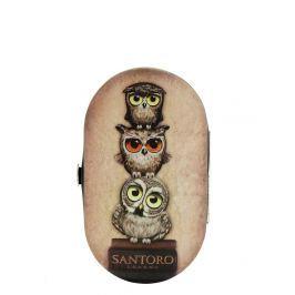 Santoro London - Manicure Set - Book Owls Bílo - černá;Bílo - černá