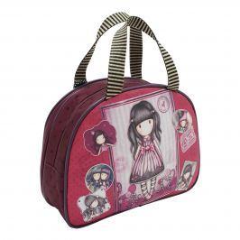 Santoro London - Kosmetická taška (velká) - Gorjuss - Sugar and Spice Tmavě růžová, fialová;Tmavě růžová, fialová