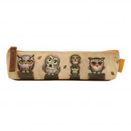 Santoro London - Pouzdro (slim) - Book owls