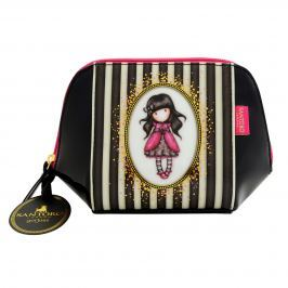 Santoro London - Pouzdro/Kosmetická taška (menší) - Gorjuss Stripes - Ladybird