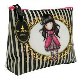 Santoro London - Kosmetická taška (velká) - Gorjuss Stripes - Ladybird