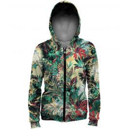 Mikina Tropical Jungle barevné L