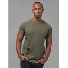 Tričko Ripped Raglan zelená M