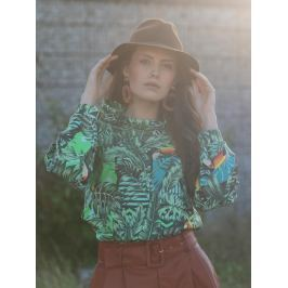 Blouse Behind The Leaves M
