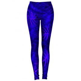 Legíny Tropical Dark Blue barevné XS