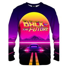 Mikina Back To The Future barevné XL
